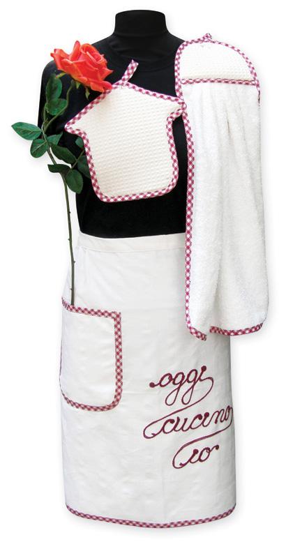 Ricamoditutto cucina - Grembiule cucina personalizzato ...